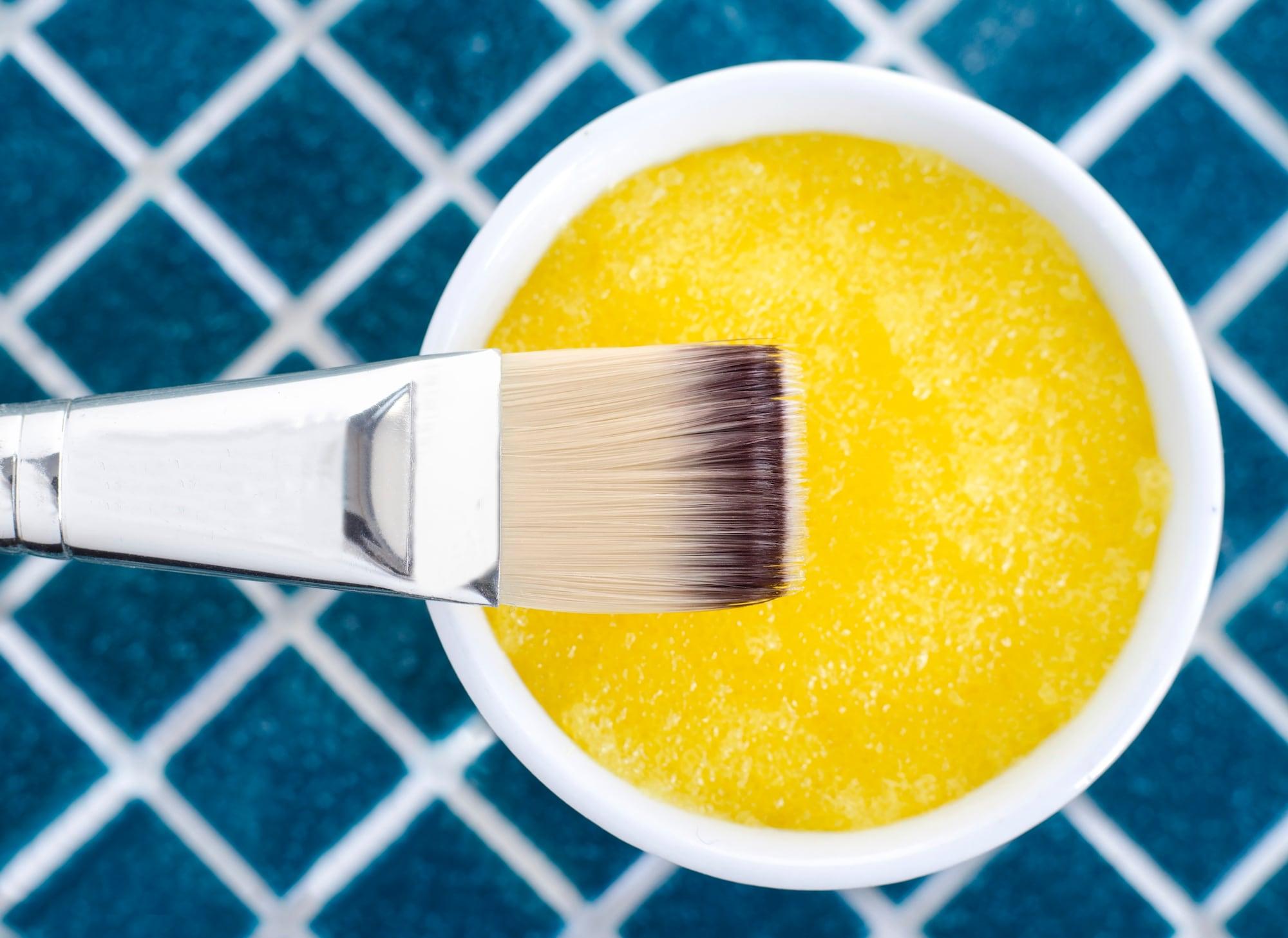 bahan-bahan untuk membuat masker rambut nanas