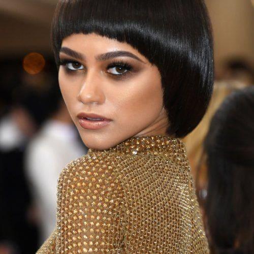 Model Rambut Pendek Untuk Rambut Tebal Dalam 23 Variasi Yang Keren