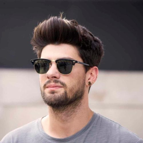 Model Rambut Pria Untuk Wajah Bulat Ini 20 Model Rambut Wajib Coba