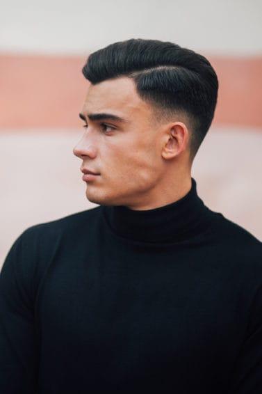 13 Model rambut belah samping pria yang trendi - All ...