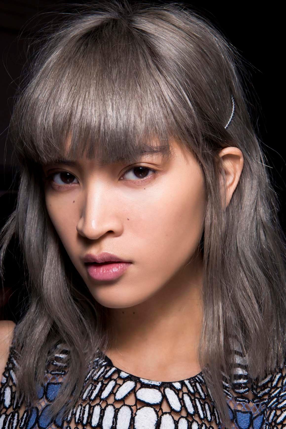 10 warna rambut dark grey