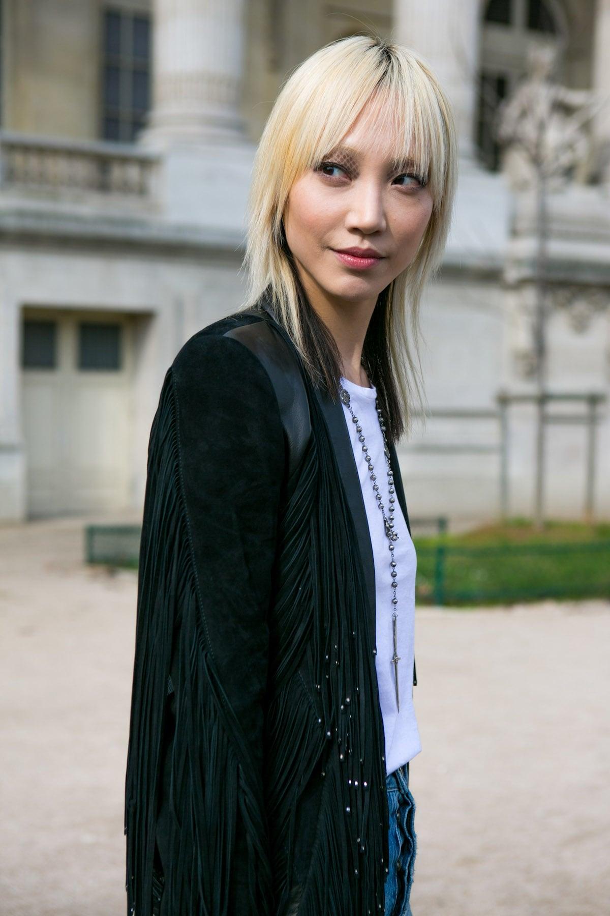 Model rambut jepang dengan gaya shaggy