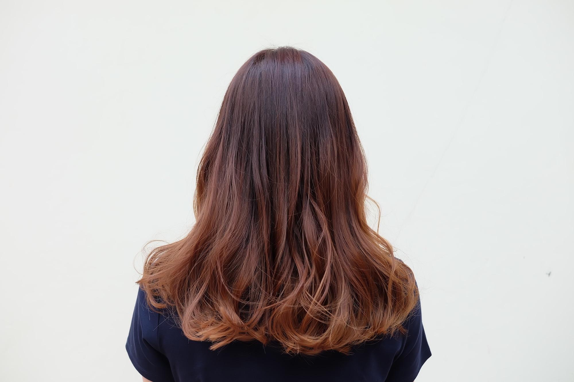 83+ Gambar Rambut Coklat Ombre Kekinian