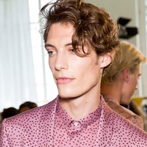 19+ Potongan Rambut Pria Keriting Yang Bagus   Cahunit.com
