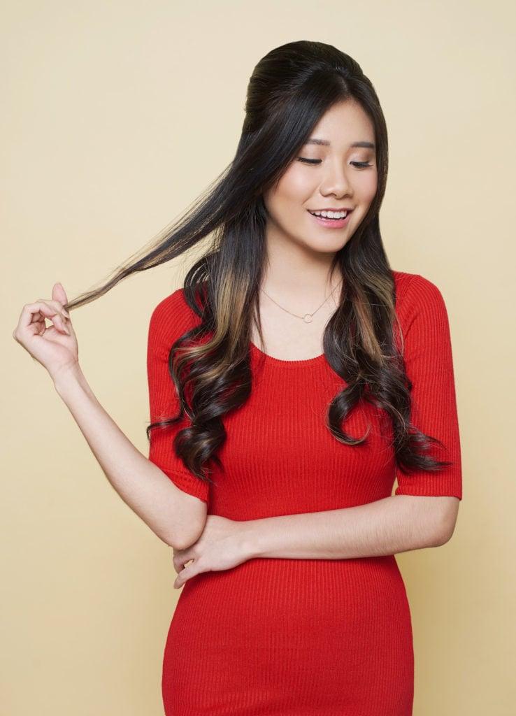 gaya rambut beehive
