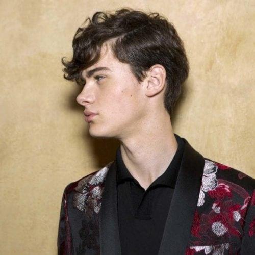 Potongan Rambut Pria Lurus Panjang Terbaru | Cahunit.com