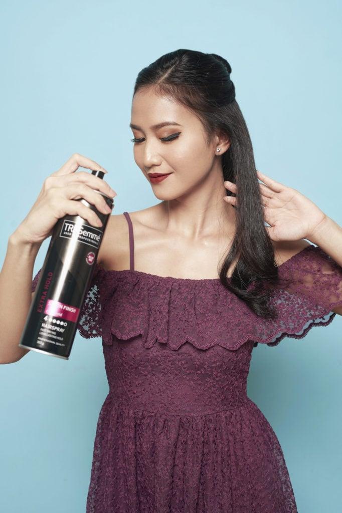 Curly Blow Dry - mengeriting rambut menyemprotkan hair dryer.