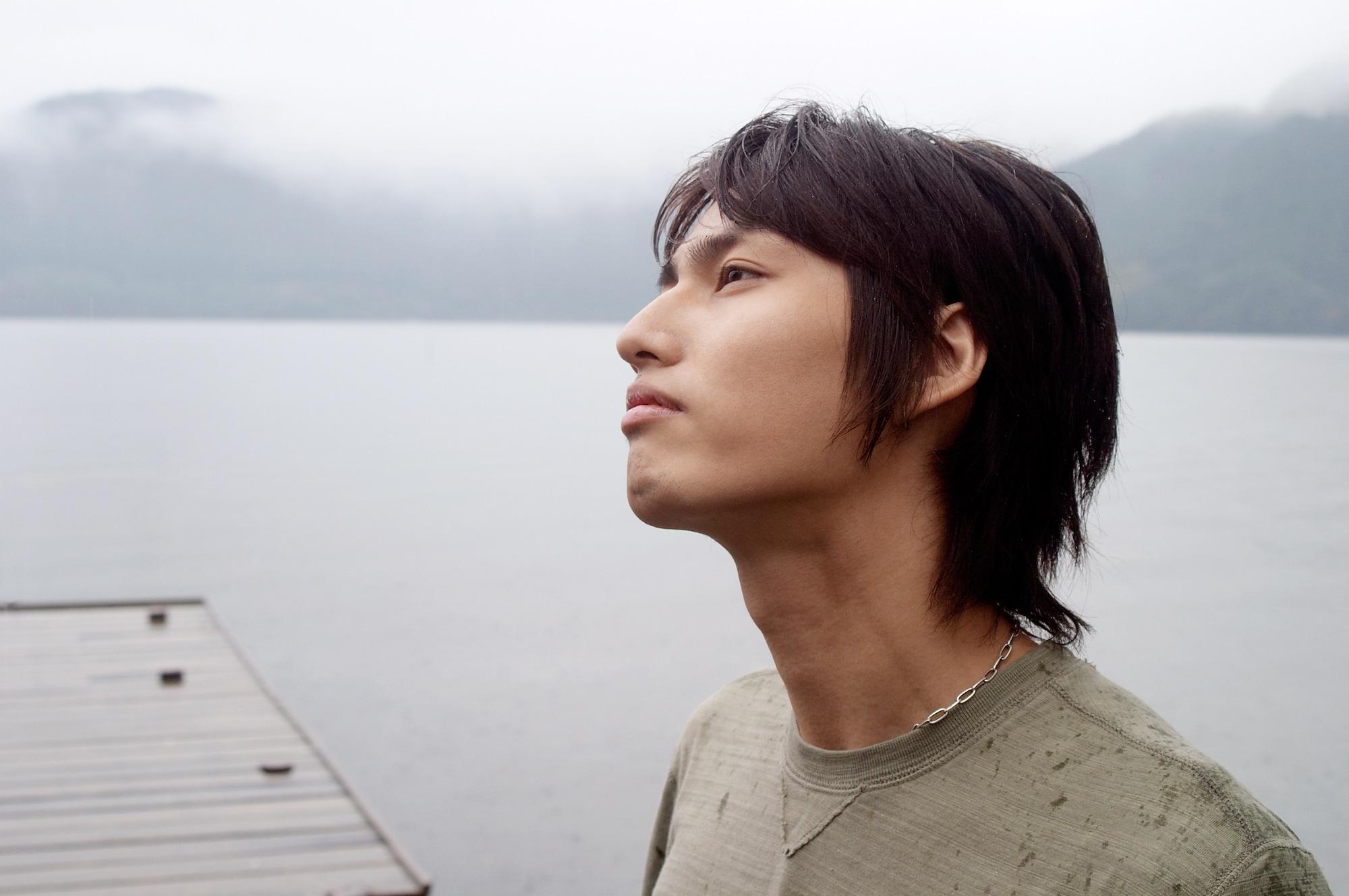 7 model rambut pria jepang shaggy