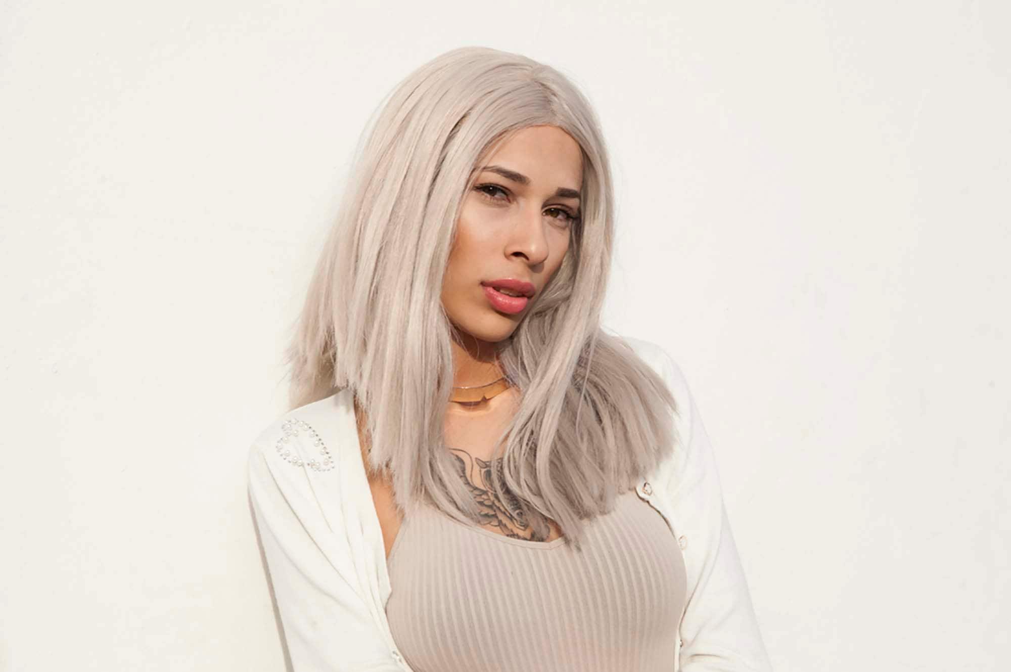 9 warna rambut putih dengan hin abu abu