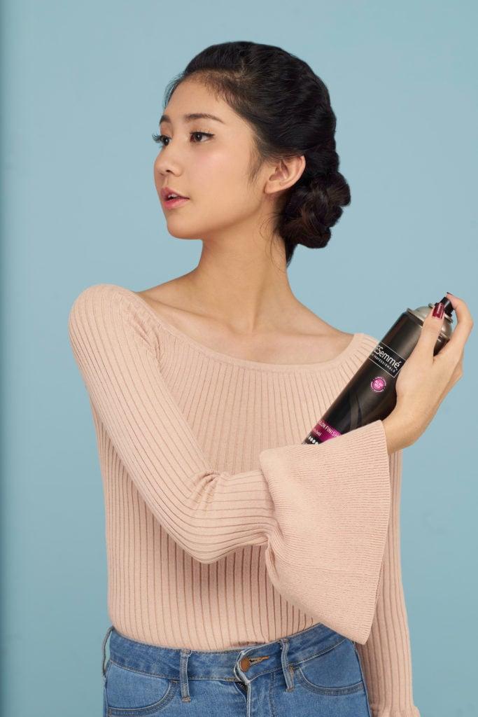 pakai hairspray