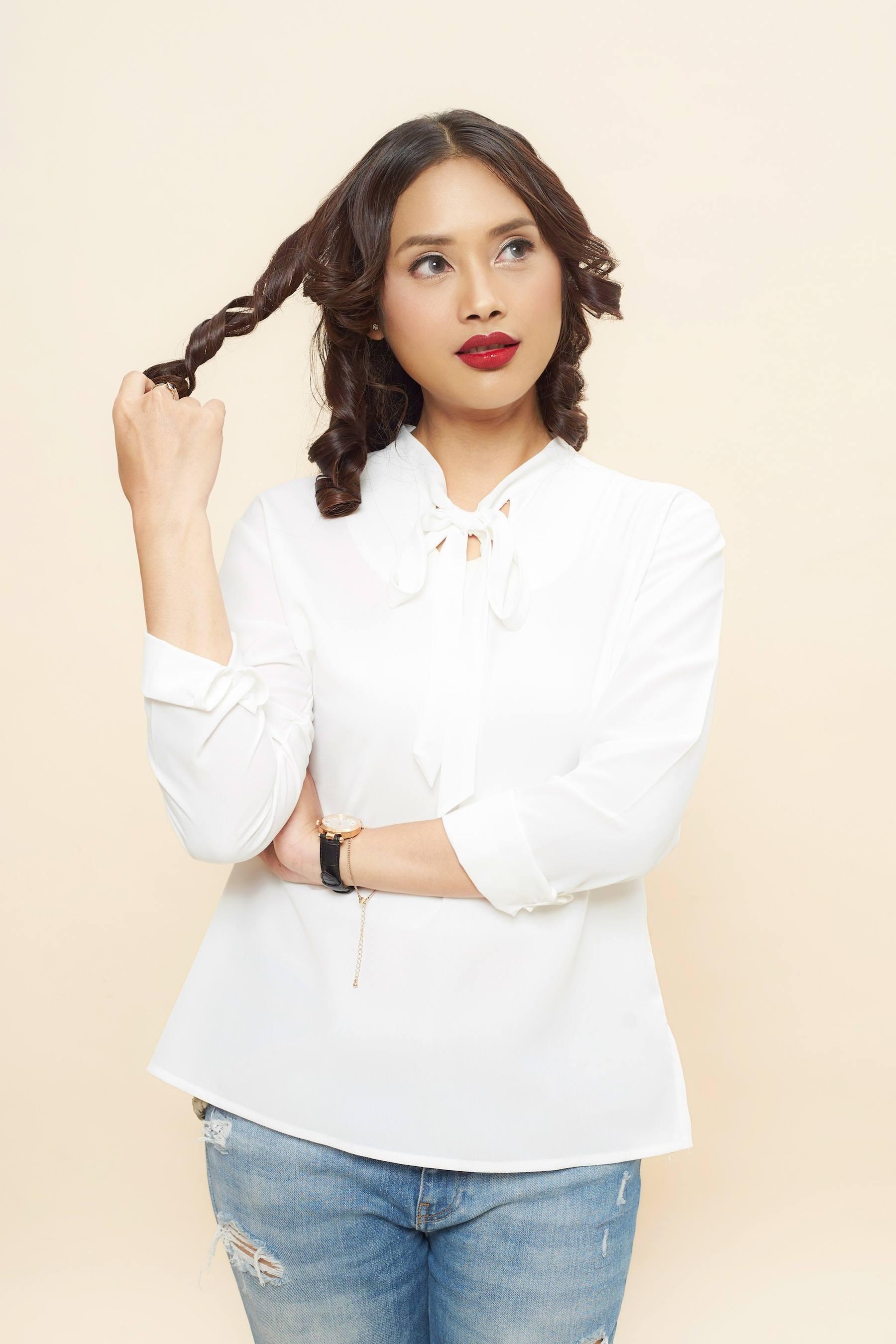 Model Rambut Sebahu Untuk Wanita