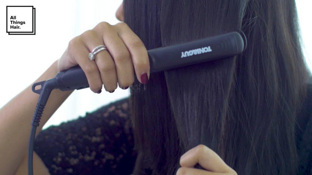 Step 3 sleek low knot- Anna Oktarina.