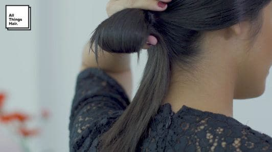 Step 6 sleek low knot- Anna Oktarina.