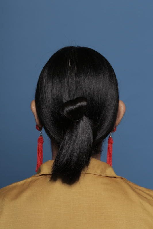rambut looped and knotted hair