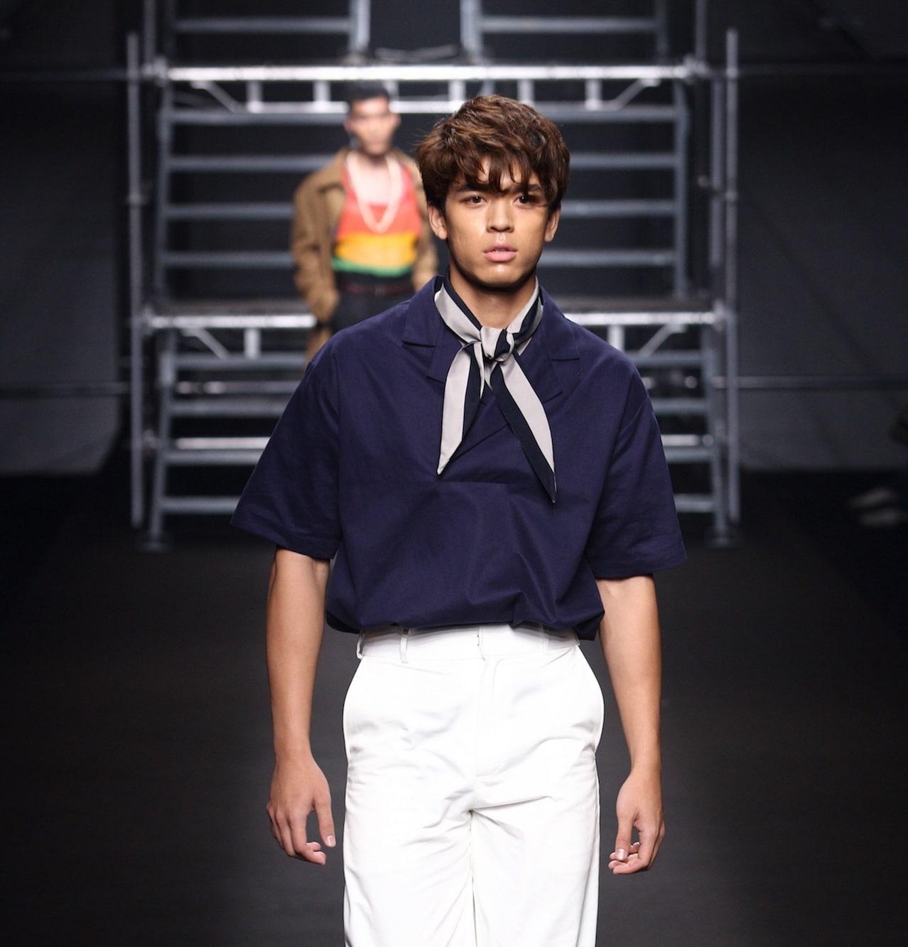 Fringe hairstyle model rambut pria korea