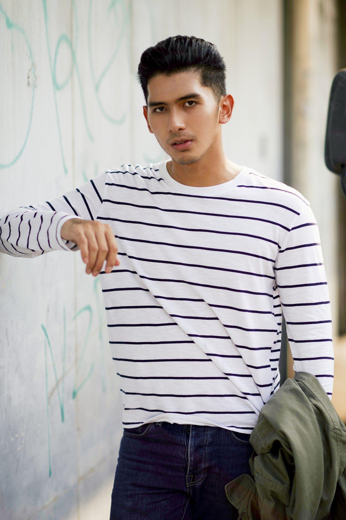 Model rambut pria pompadour pendek