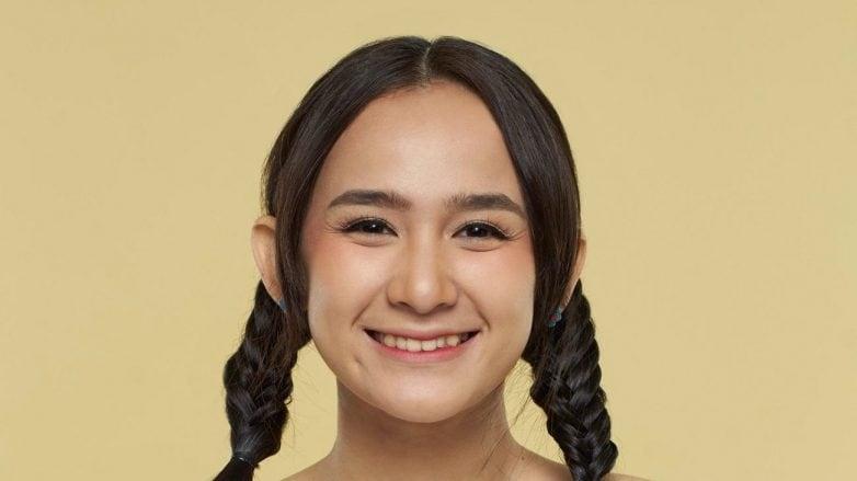 model rambut kepang Twin Fishtail Braid