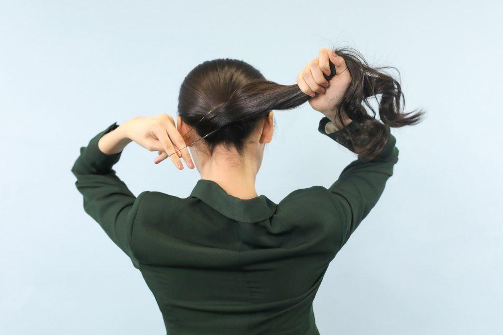 gaya rambut untuk ke pesta