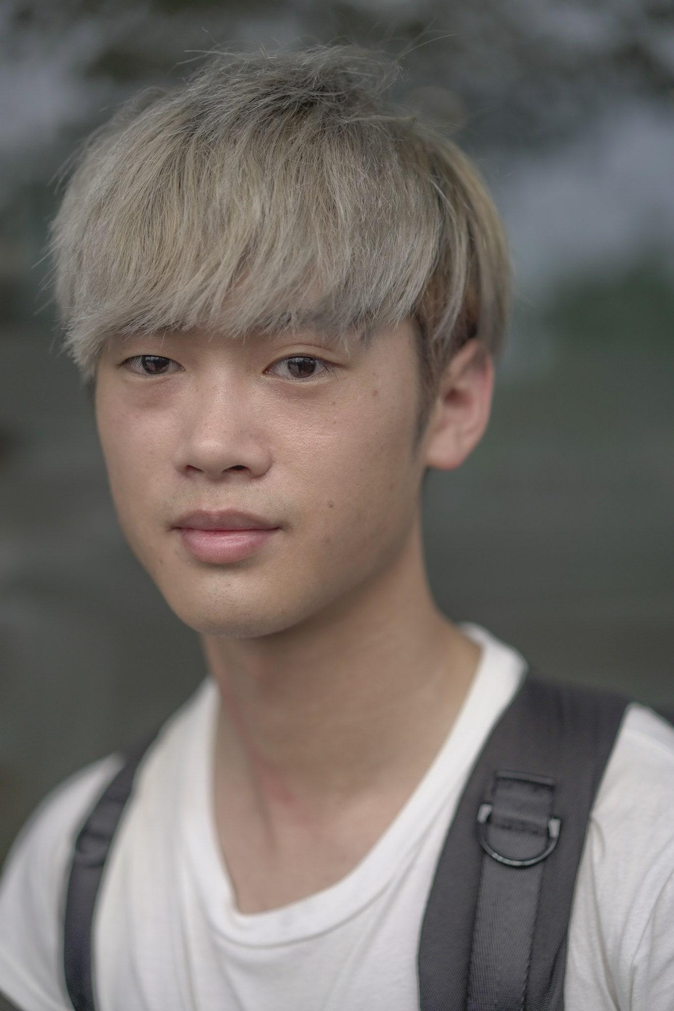 Gaya rambut korea pria pada super kpop festival