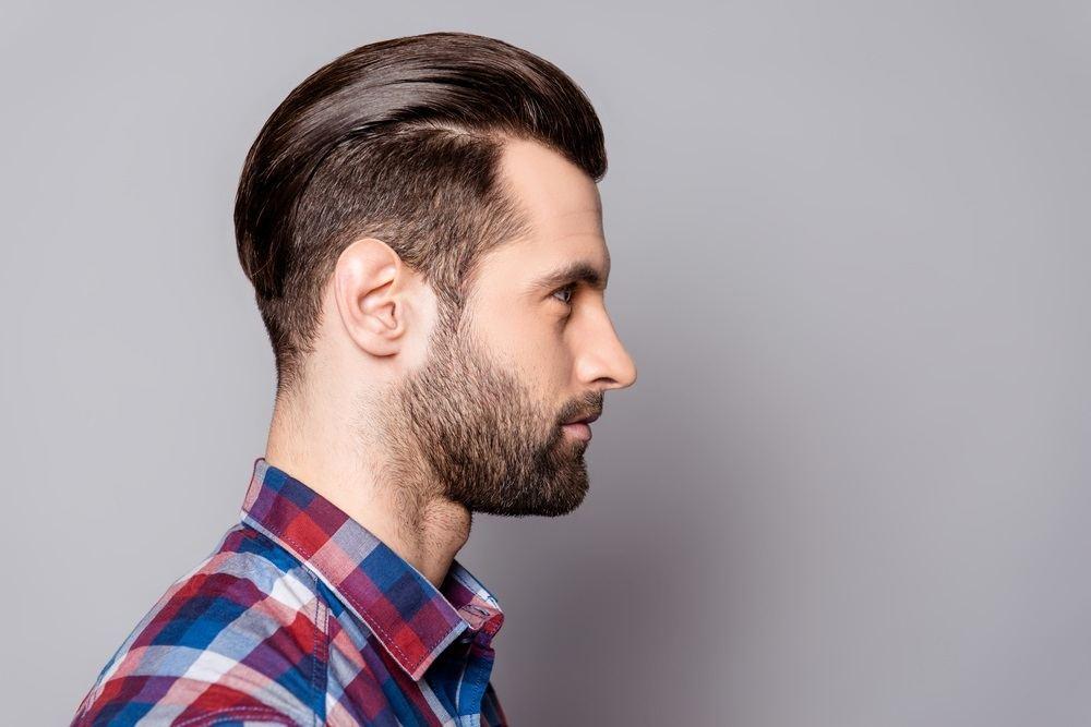 gaya rambut slick back