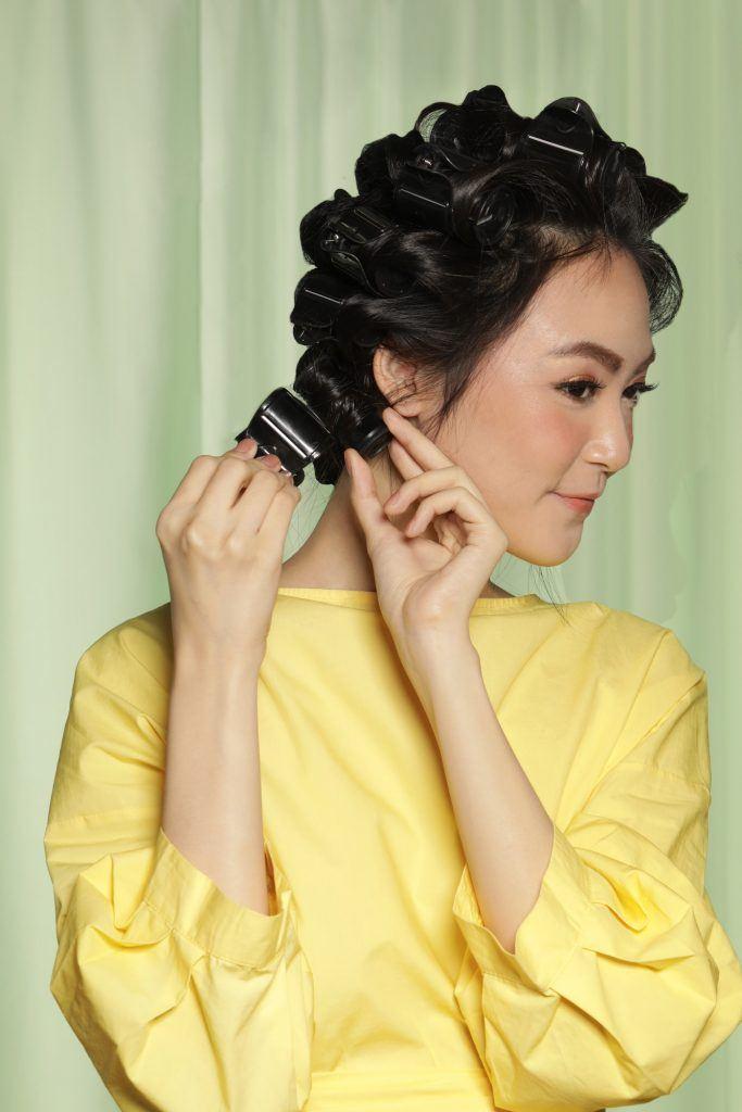 tutorial keriting rambut