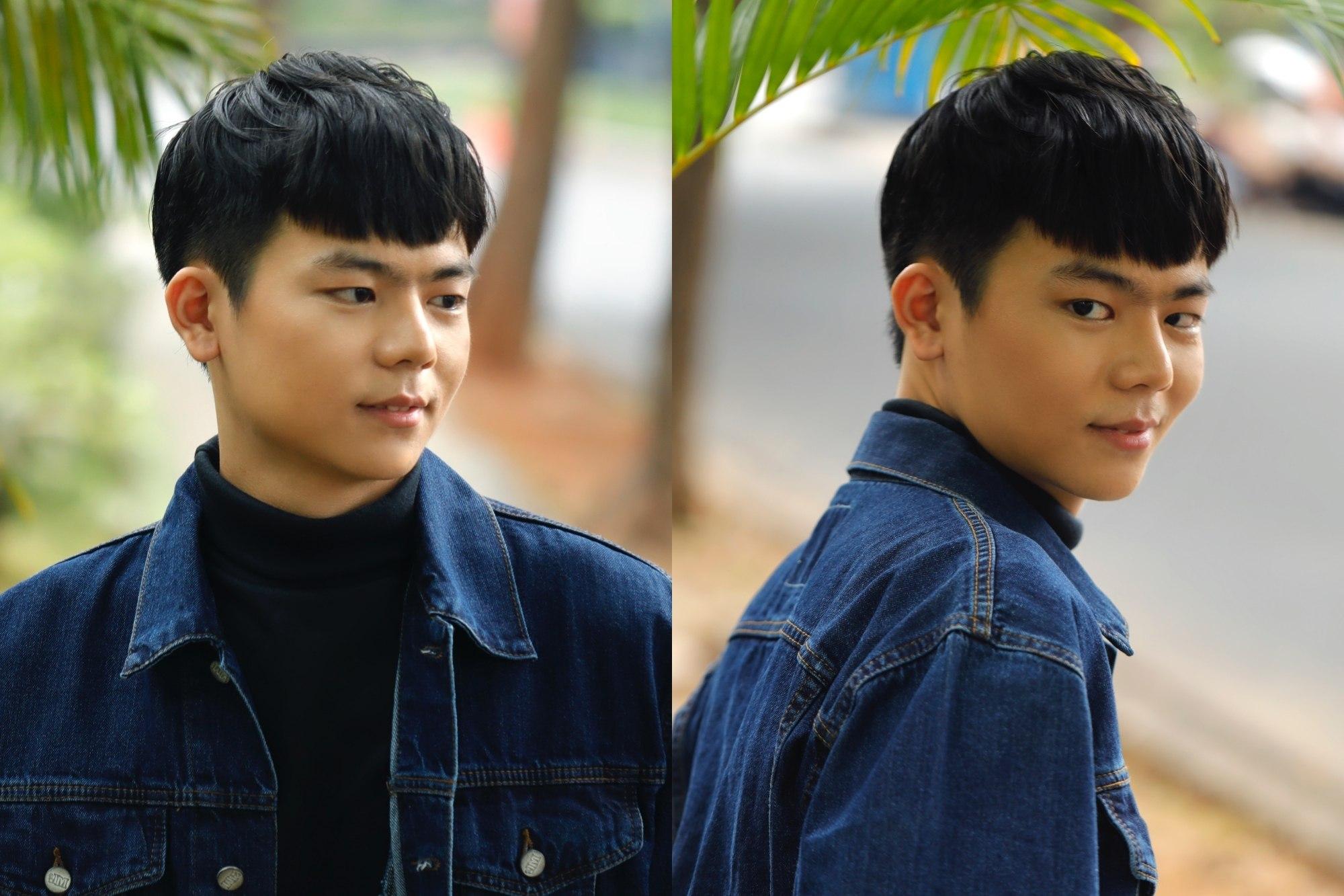 gaya rambut kpop two blocks haircut