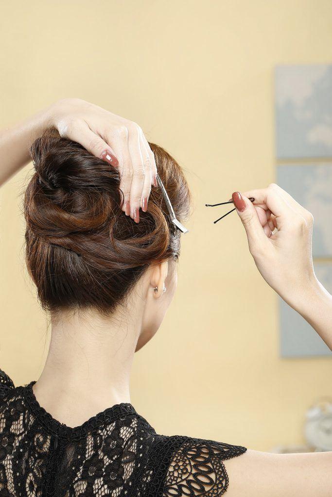 rambut pompadour