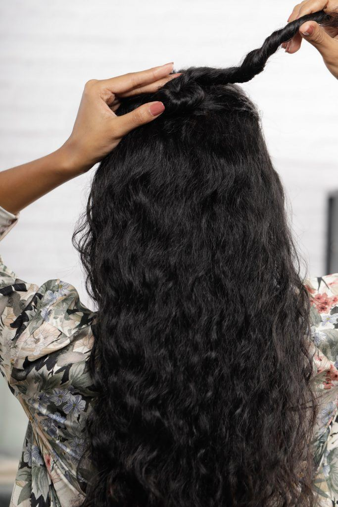 pelintir rambut