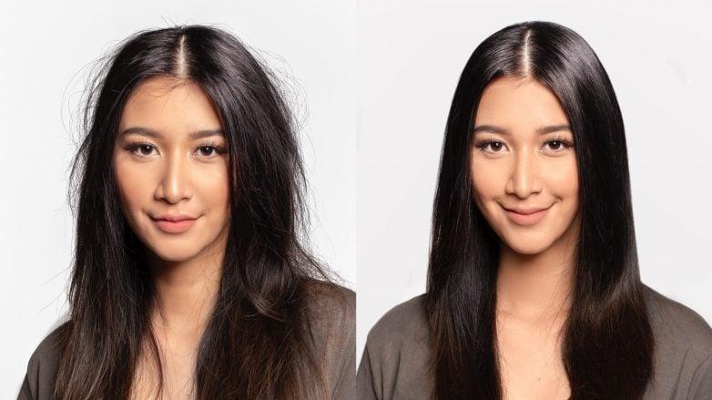 merawat rambut kering tanpa shampoo