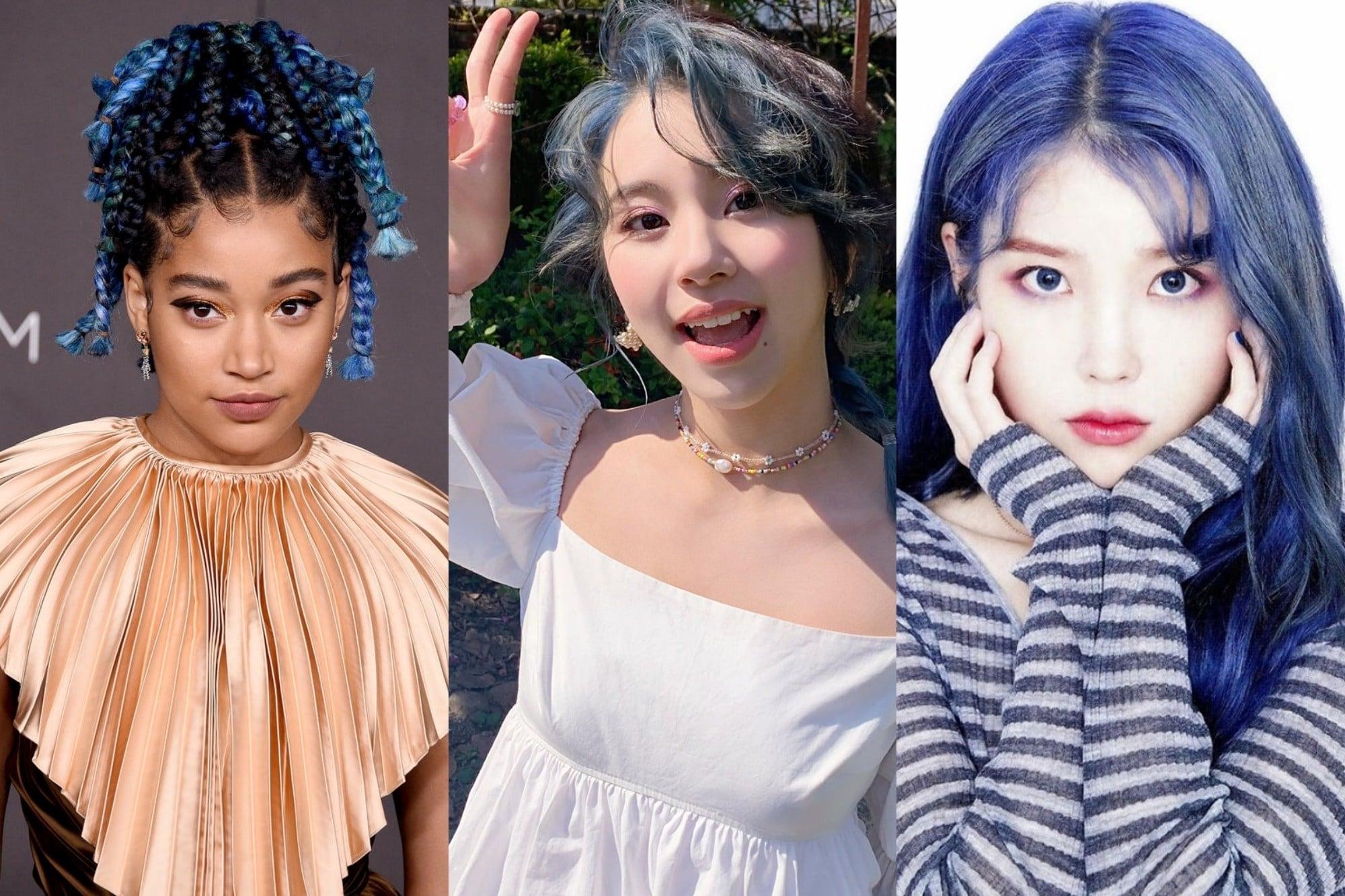 28+ Gaya Rambut Pria Warna Biru Terbaru | Cahunit.com