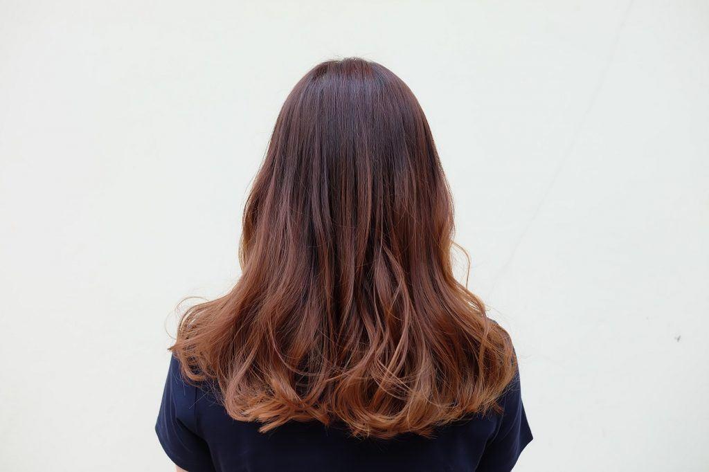 highlight rambut caramel