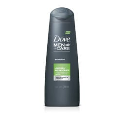 dove men care shampoo limpieza refrescante
