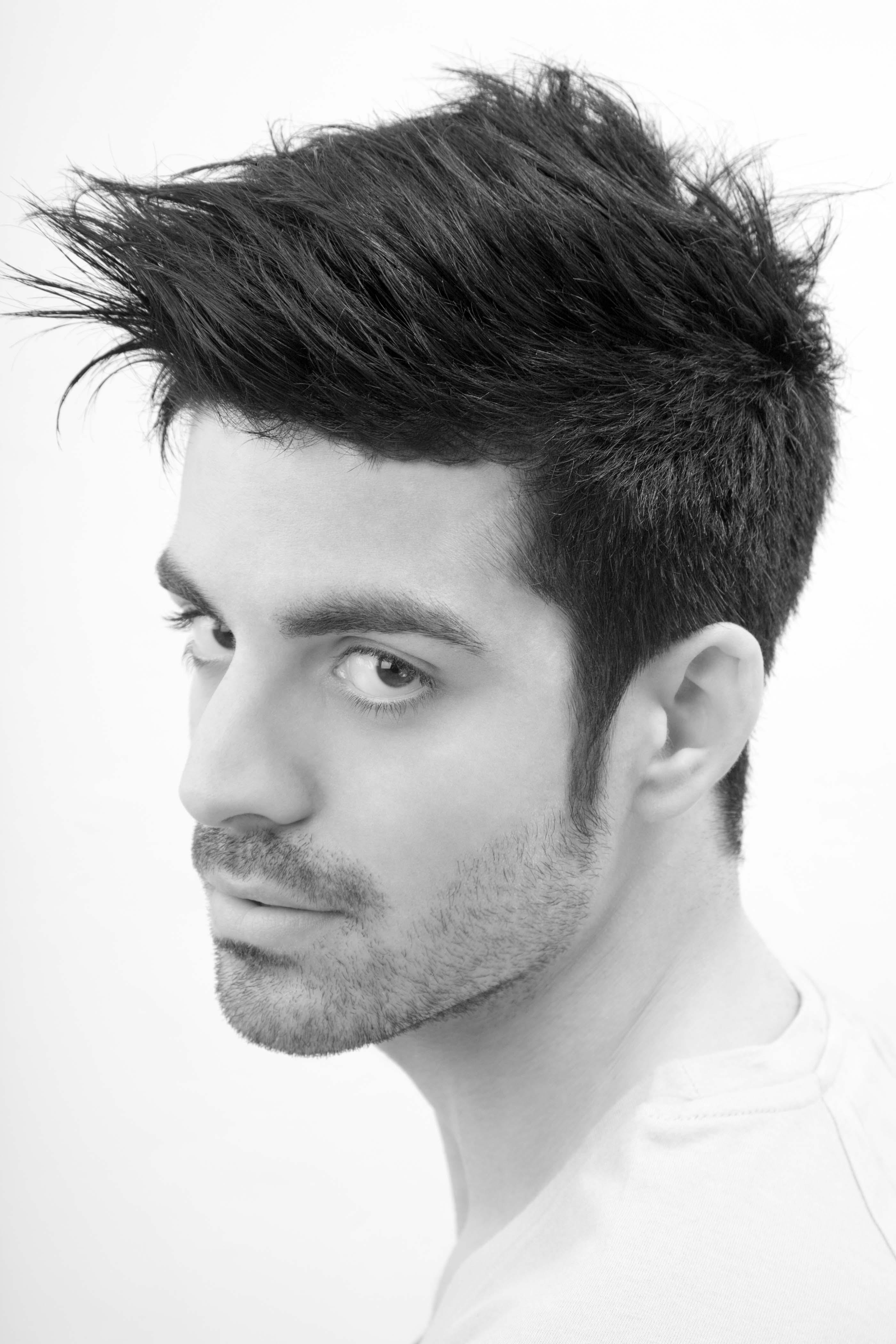 Corte de pelo hombre degradado alto