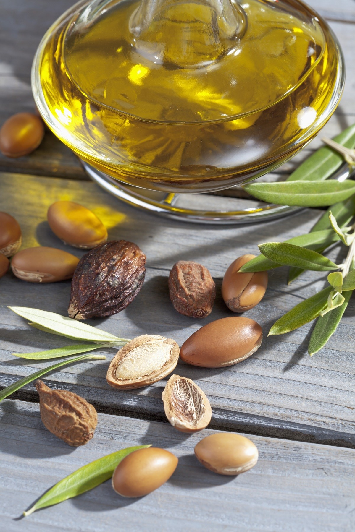 Aceite y semillas de argán