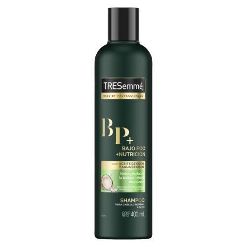 Shampoo Bajo Poo + Nutrición de TRESemmé