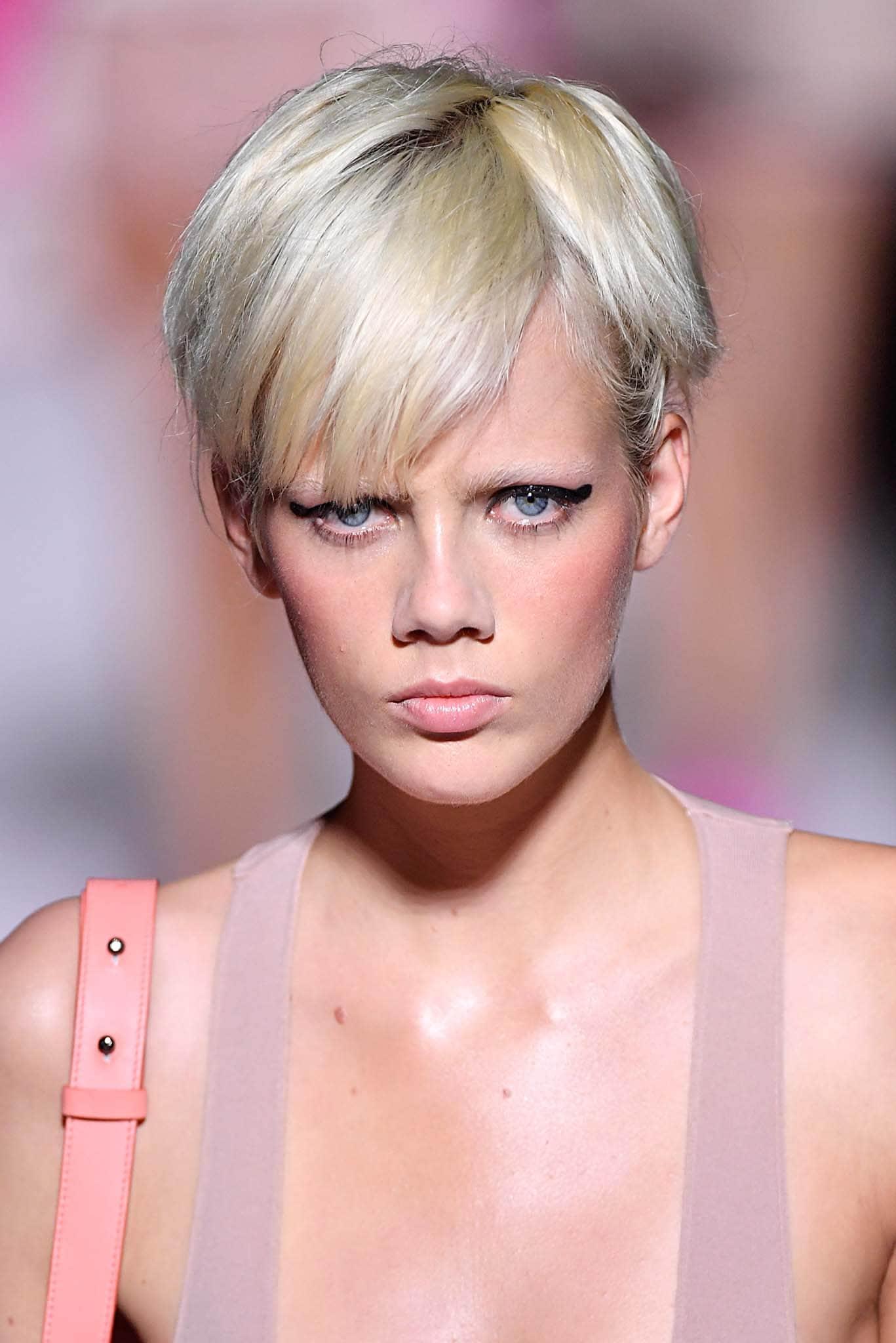 corte corte de pelo de mujer