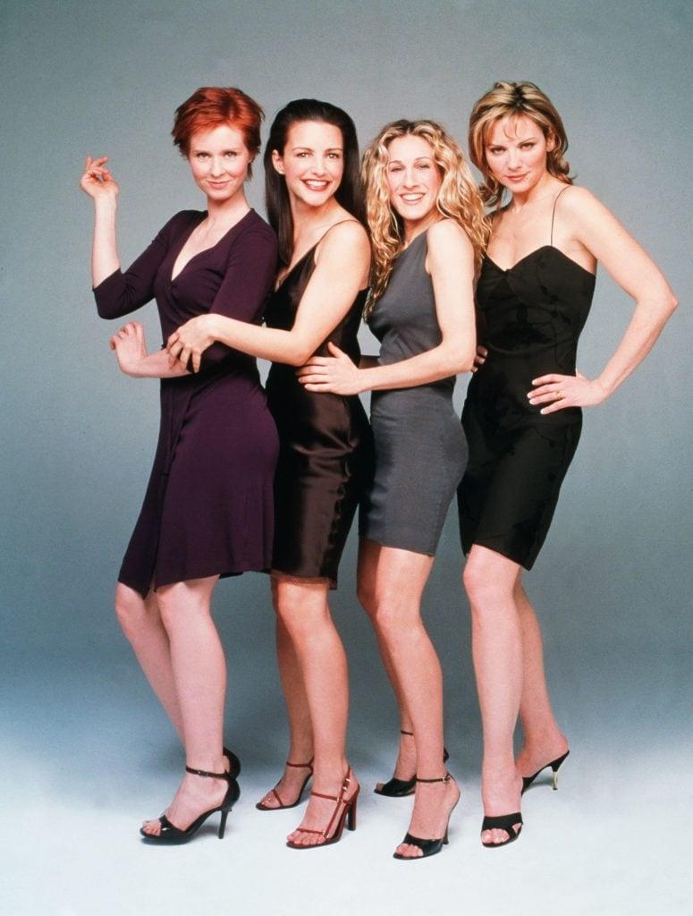 Las cuatro protagonistas de Sex and The City con sus cortes característicos