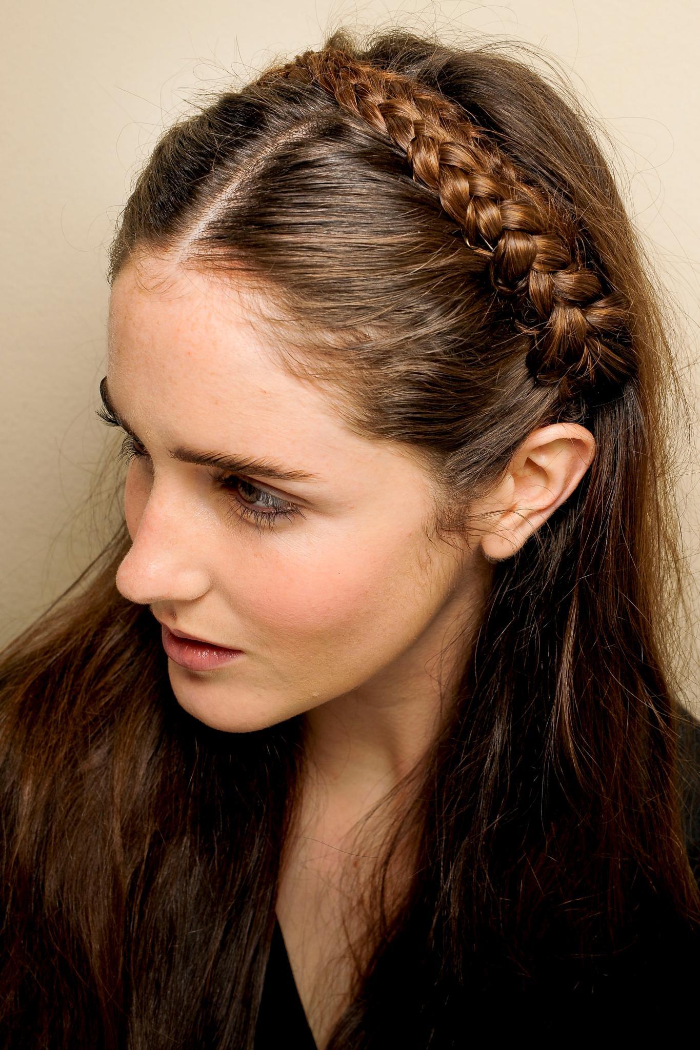 Peinado elegante para madrinas