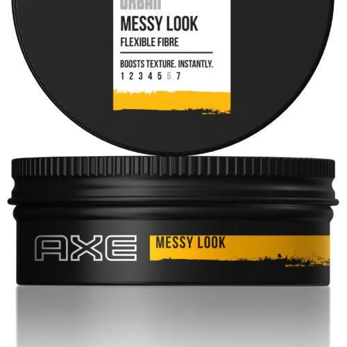 "Foto producto Axe ""Messy Look"" envase tipo pomada"