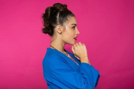 peinado mohawk para mujer paso 6