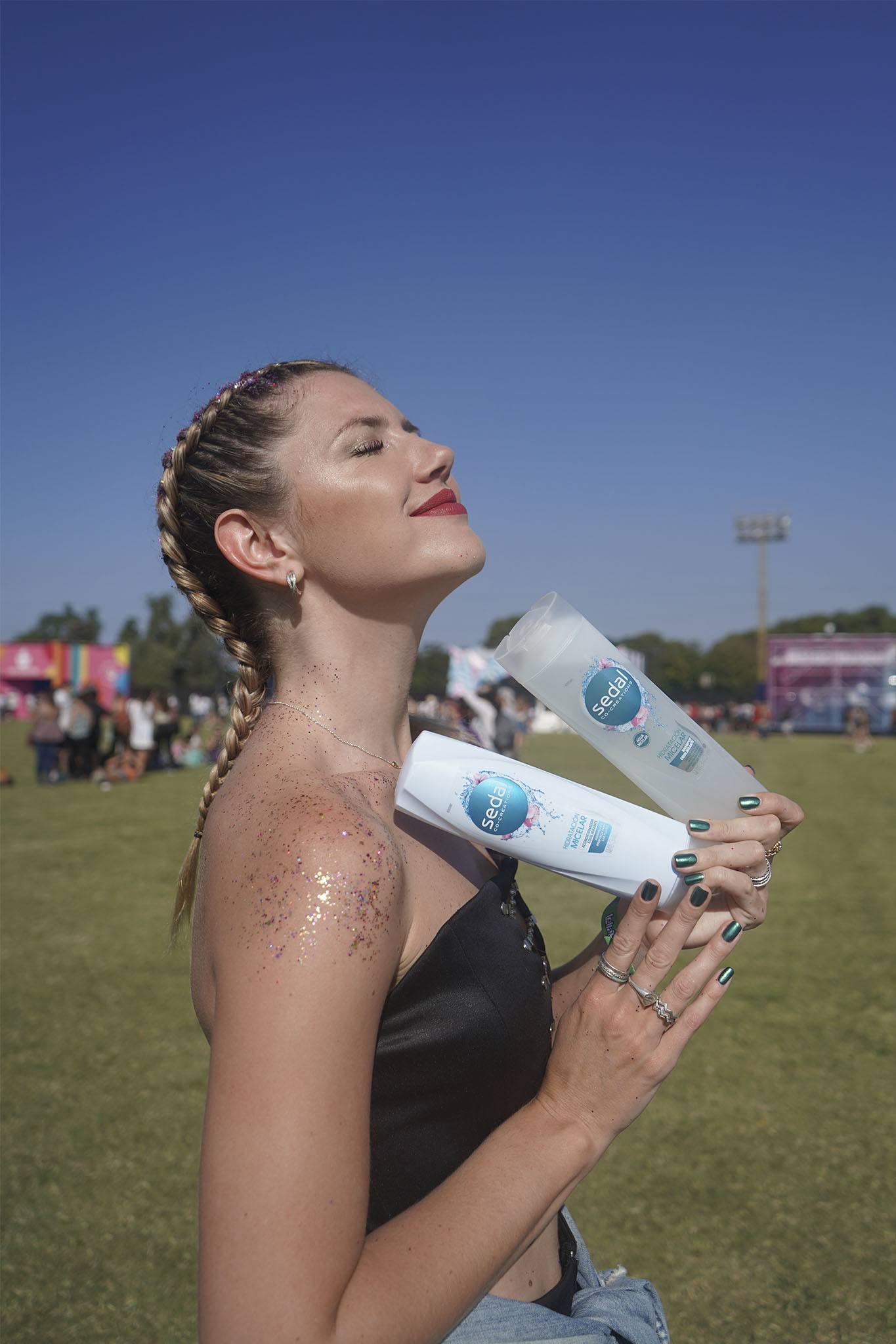 Stephanie Demner en Lollapalooza 2019