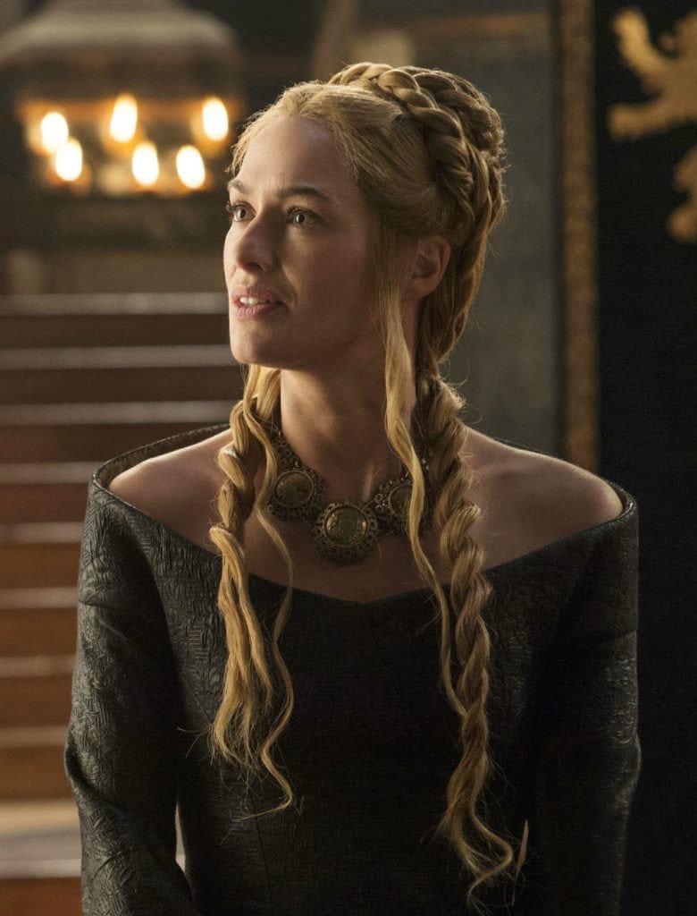 trenzas de game of thrones cersei lannister