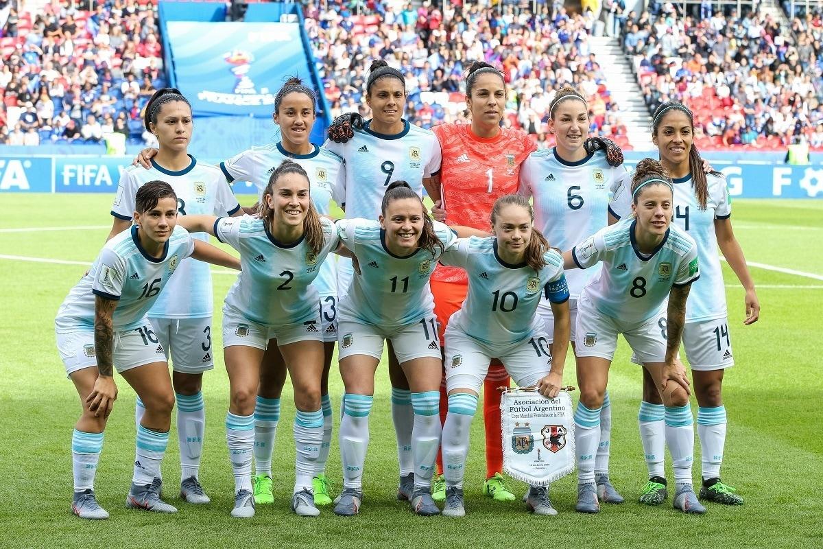 equipo de futbol femenino Argentina