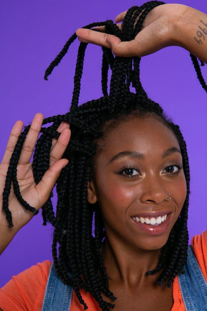 tutorial trenzas africanas cortas