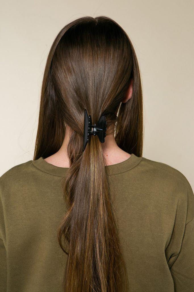 Peinado media cola
