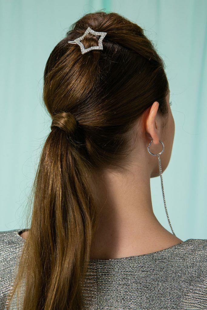 Peinados en pelo largo para fiestas