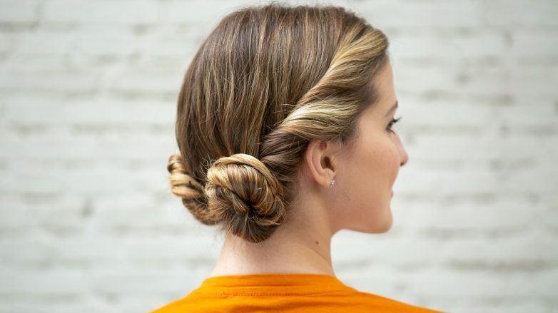 Como hacer peinados recogidos con rulos