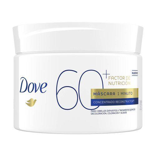 Máscara 1 Minuto factor nutricion 60 de Dove
