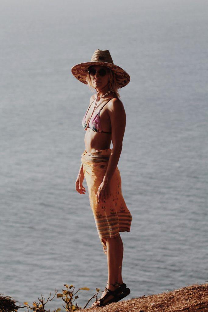 loli lanusse cuidar el pelo en la playa
