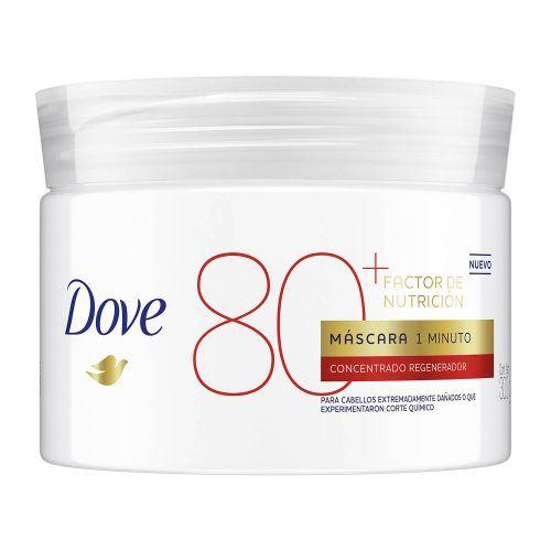 Máscara 1 Minuto Factor de Nutrición 80 de Dove